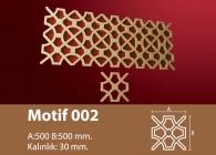 Motif Stroline Söve: İç ve Dış Cephe Süslemeleri ve Yalı Baskı Mantolama Motif 1