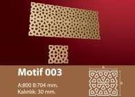 Motif Stroline Söve: İç ve Dış Cephe Süslemeleri ve Yalı Baskı Mantolama Motif 2
