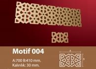Motif Stroline Söve: İç ve Dış Cephe Süslemeleri ve Yalı Baskı Mantolama Motif 3
