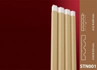 Dış Cephe Süslemeleri Stroline Söve: İç ve Dış Cephe Süslemeleri ve Yalı Baskı Mantolama Sütun 16