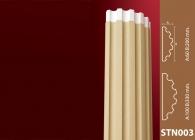 Sütun Stroline Söve: İç ve Dış Cephe Süslemeleri ve Yalı Baskı Mantolama Sütun 2