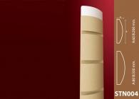 Sütun Stroline Söve: İç ve Dış Cephe Süslemeleri ve Yalı Baskı Mantolama Sütun 3
