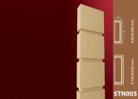 Sütun Stroline Söve: İç ve Dış Cephe Süslemeleri ve Yalı Baskı Mantolama Sütun 4