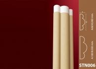 Sütun Stroline Söve: İç ve Dış Cephe Süslemeleri ve Yalı Baskı Mantolama Sütun 5