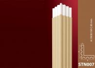 Sütun Stroline Söve: İç ve Dış Cephe Süslemeleri ve Yalı Baskı Mantolama Sütun 6