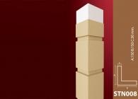 Sütun Stroline Söve: İç ve Dış Cephe Süslemeleri ve Yalı Baskı Mantolama Sütun 7