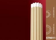 Sütun Stroline Söve: İç ve Dış Cephe Süslemeleri ve Yalı Baskı Mantolama Sütun 10