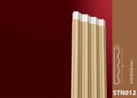 Sütun Stroline Söve: İç ve Dış Cephe Süslemeleri ve Yalı Baskı Mantolama Sütun 11