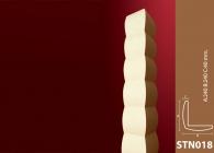 Sütun Stroline Söve: İç ve Dış Cephe Süslemeleri ve Yalı Baskı Mantolama Sütun 17