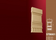 Dış Cephe Süslemeleri Stroline Söve: İç ve Dış Cephe Süslemeleri ve Yalı Baskı Mantolama Sütun Başı 17