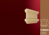 Sütun Başı Stroline Söve: İç ve Dış Cephe Süslemeleri ve Yalı Baskı Mantolama Sütun Başı 3
