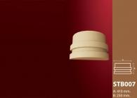 Sütun Başı Stroline Söve: İç ve Dış Cephe Süslemeleri ve Yalı Baskı Mantolama Sütun Başı 6