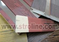 Ahşap Desen Dokulu Ürünler Stroline Söve: İç ve Dış Cephe Süslemeleri ve Yalı Baskı Mantolama Wood Facing Products 0