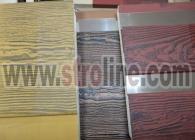 Ahşap Desen Dokulu Ürünler Stroline Söve: İç ve Dış Cephe Süslemeleri ve Yalı Baskı Mantolama Wood Facing Products 1