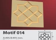 Motif Stroline Söve: İç ve Dış Cephe Süslemeleri ve Yalı Baskı Mantolama Motif 13